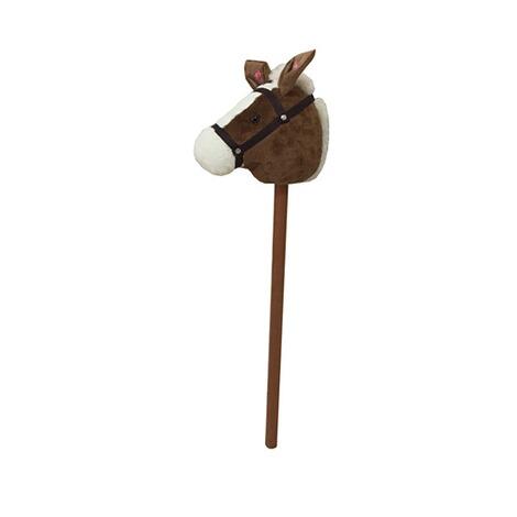 solini Cheval b/âton avec son brun