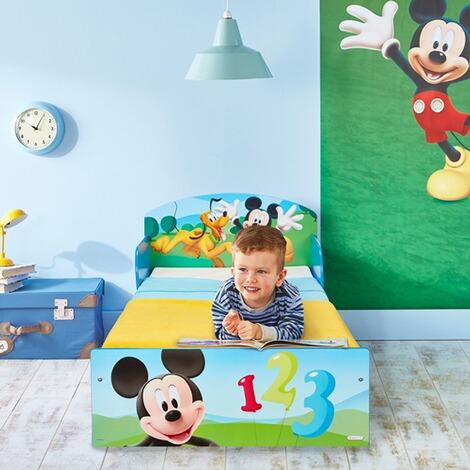 DISNEY MICKEY MOUSE & FRIENDS Kinderbett Mickey 70 x 140 cm