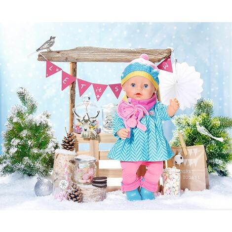dbe927fa61bf7 Zapf Creation BABY BORN Tenue pour poupées Deluxe pour le froid à ...