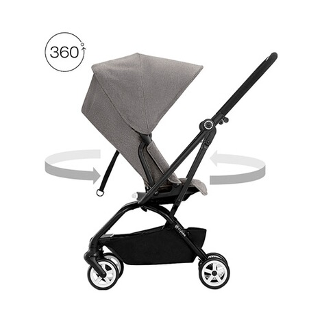 Cybex GOLD Eezy S Twist Buggy mit Liegefunktion  Manhattan Grey 2