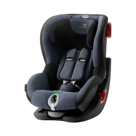Britax Römer  King II LS Kindersitz  Black Series blue marble 1