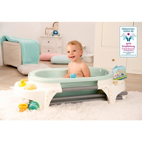 ROTHO BABYDESIGN  4-tlg. Badewannen-Set TOP, ideale Badelösung  swedisch green 3