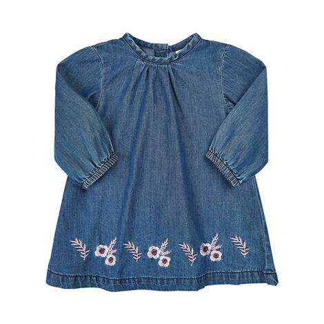 MINYMO Jeanskleid langarm online kaufen   baby-walz 0ecfd90a62
