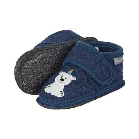 starke verpackung neuer Stil Herbst Schuhe Sterntaler Hausschuhe mit Klettverschluss Eisbär und Pinguin