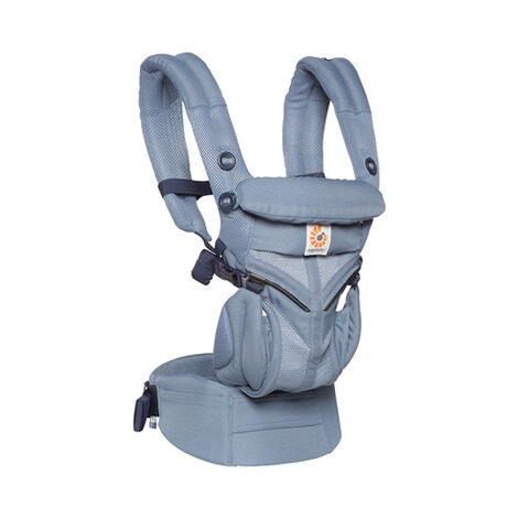 Ergobaby® OMNI 360 Cool Air Mesh Babytrage, 4 Tragepositionen  Oxford Blue 4