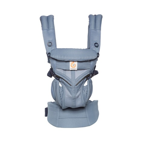 Ergobaby® OMNI 360 Cool Air Mesh Babytrage, 4 Tragepositionen  Oxford Blue 2