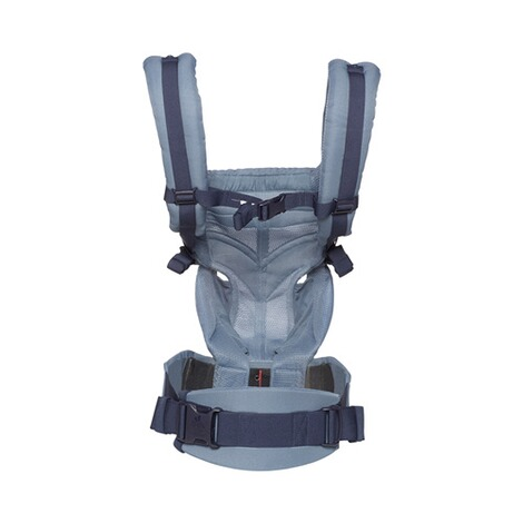 Ergobaby® OMNI 360 Cool Air Mesh Babytrage, 4 Tragepositionen  Oxford Blue 3