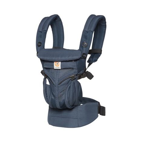 Ergobaby® OMNI 360 Cool Air Mesh Babytrage, 4 Tragepositionen  Midnight Blue 1
