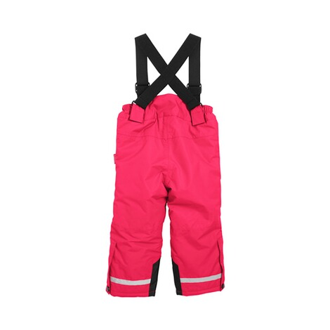 Playshoes  Schneehose Träger  pink 2