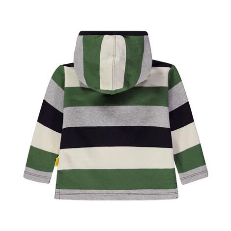 Sweatshirt mit Blockstreifen und Quietscher