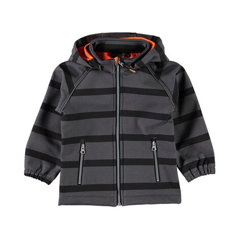 NAME IT  Softshelljacke Blockstreifen 1