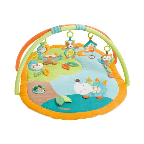 Fehn  Spielbogen mit 3-D-Activity-Decke Sleeping Forest 1