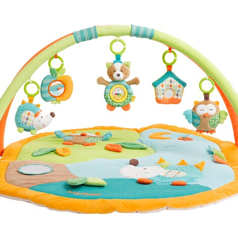 Fehn  Spielbogen mit 3-D-Activity-Decke Sleeping Forest 2