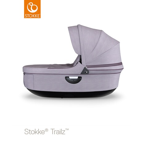 Stokke®  Tragewanne für Trailz, Crusi  black/brushed lilac 1