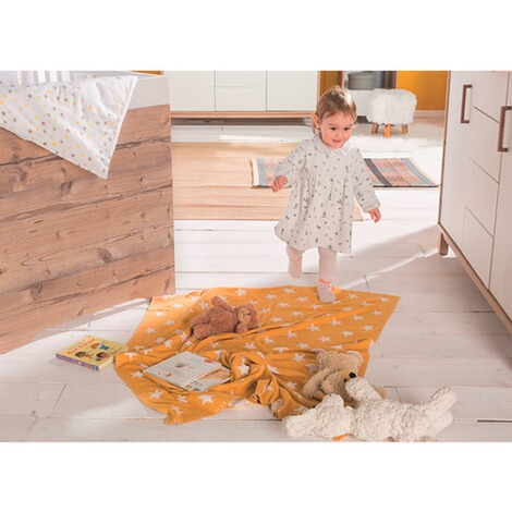 Schardt  Babydecke Big Star 95x120 cm  Honey Gold 2