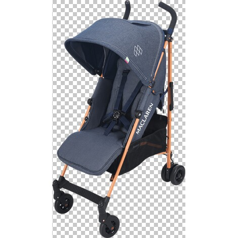 Maclaren  Quest Buggy mit Liegefunktion  Denim Indigo 1