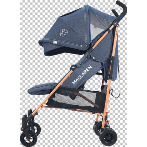 Maclaren  Quest Buggy mit Liegefunktion  Denim Indigo 3