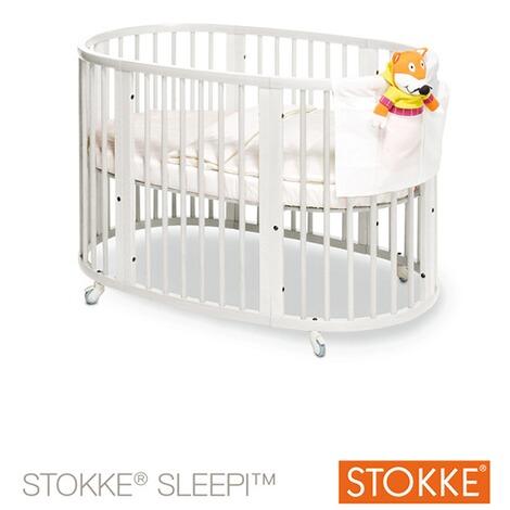 stokke sleepi babybett mit matratze sleepi 120 cm 6 36 monate online kaufen baby walz. Black Bedroom Furniture Sets. Home Design Ideas