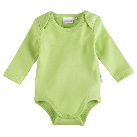 Bornino BASICS Body langarm  grün 1