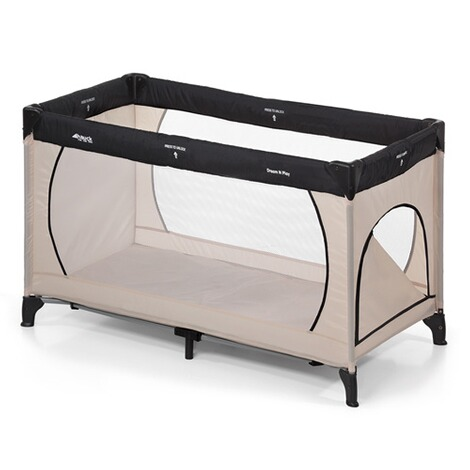 Hauck  Reisebett Dream´n Play Plus  beige grey 1