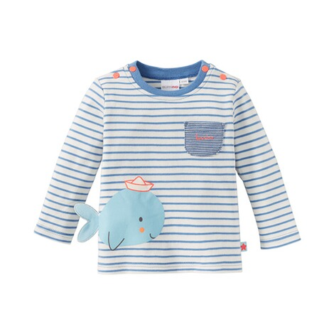 Bornino SEASIDE Shirt langarm Wal 1
