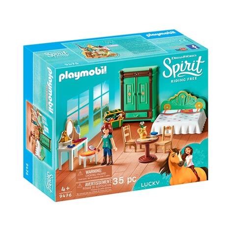 PLAYMOBIL DREAMWORKS SPIRIT 9476 Lucky/'S Chambre à coucher Playset