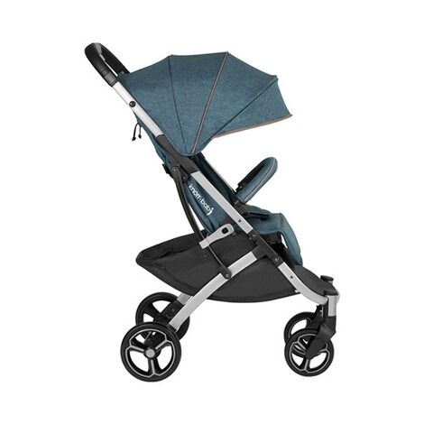 knorr-baby PREMIUM X-Easy-Fold  Buggy mit Liegefunktion  melange-jeans 2