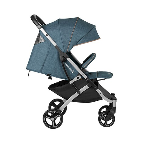 knorr-baby PREMIUM X-Easy-Fold  Buggy mit Liegefunktion  melange-jeans 3