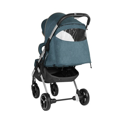 knorr-baby PREMIUM X-Easy-Fold  Buggy mit Liegefunktion  melange-jeans 4