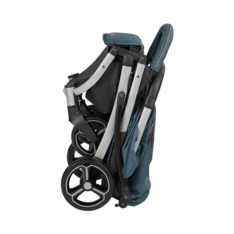 knorr-baby PREMIUM X-Easy-Fold  Buggy mit Liegefunktion  melange-jeans 7