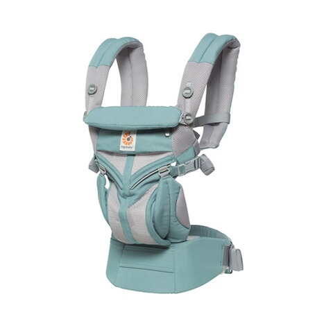 Ergobaby® OMNI 360 Cool Air Mesh Babytrage, 4 Tragepositionen  Icy Mint 1