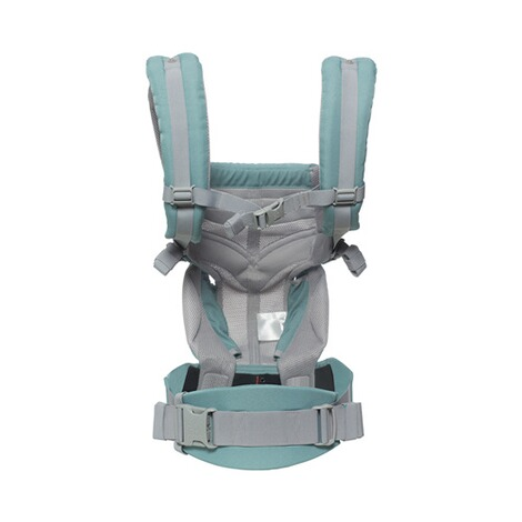 Ergobaby® OMNI 360 Cool Air Mesh Babytrage, 4 Tragepositionen  Icy Mint 3