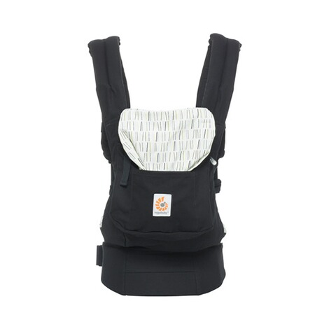 Ergobaby® ORIGINAL Babytrage, 3 Tragepositionen  Downtown 3