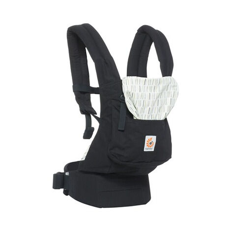 Ergobaby® ORIGINAL Babytrage, 3 Tragepositionen  Downtown 4