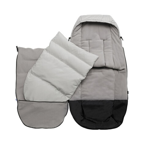 BUGABOO  Ganzjahres-Fußsack High Performance  Arctic Grey 3