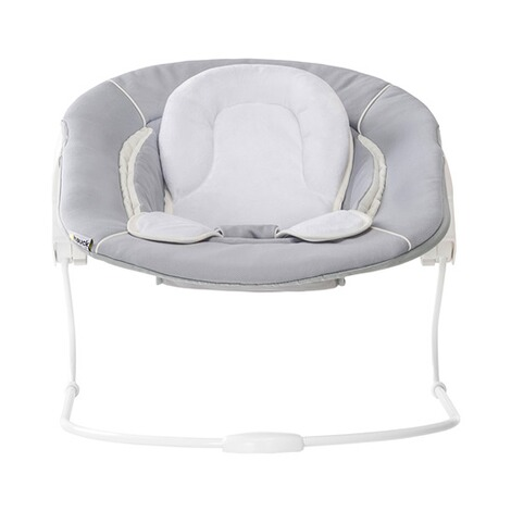 HAUCK  Babywippe Alpha Bouncer 2in1  stretch grey 6