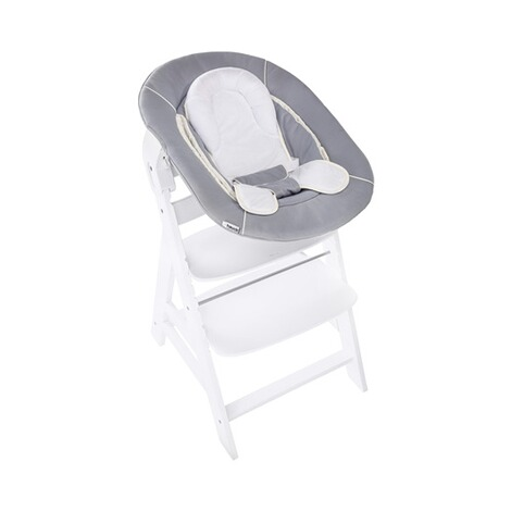 HAUCK  Babywippe Alpha Bouncer 2in1  stretch grey 20