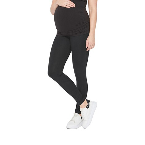 MAMALICIOUS®  2er-Pack Umstands-Leggings Organic Cotton 4
