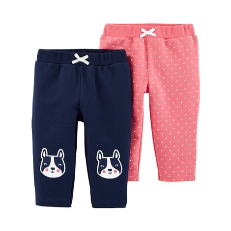 CARTER´S  2er-Pack Leggings Hund Punkte 1