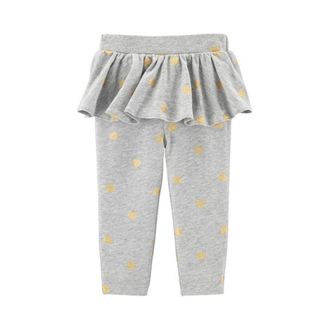 CARTER´S  2-tlg. Set Body langarm und Leggings Tutu Herzen 2