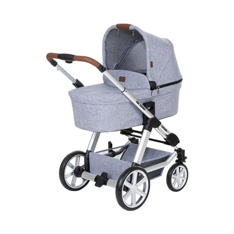 ABC Design CONDOR 4 Kombikinderwagen Trio-Set mit Wickeltasche  graphite grey 3