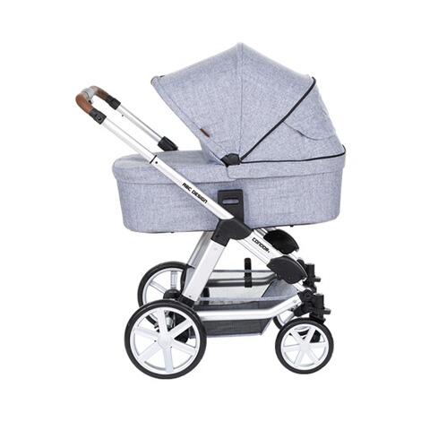 ABC Design CONDOR 4 Kombikinderwagen Trio-Set mit Wickeltasche  graphite grey 5