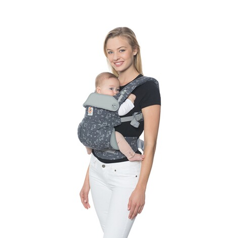 Ergobaby® 360 Babytrage, 4 Tragepositionen  Trunks Up 5