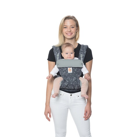 Ergobaby® 360 Babytrage, 4 Tragepositionen  Trunks Up 6