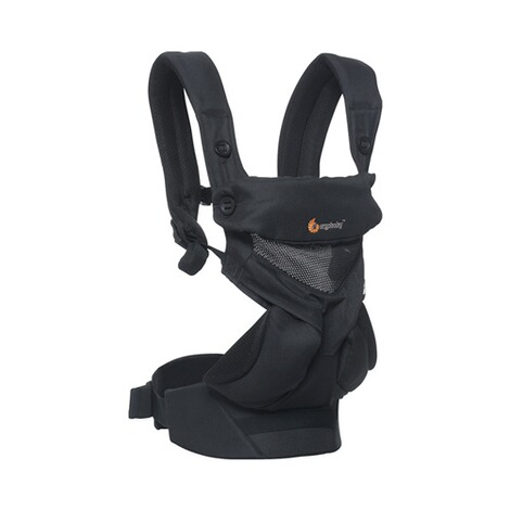 Ergobaby® 360 Cool Air Mesh Babytrage, 4 Tragepositionen  Onyx Black 2