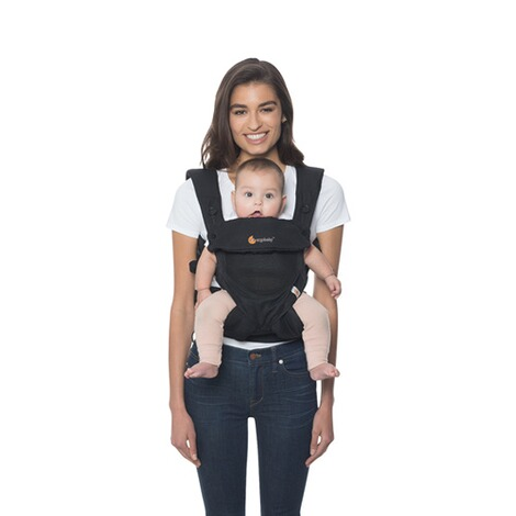 Ergobaby® 360 Cool Air Mesh Babytrage, 4 Tragepositionen  Onyx Black 5
