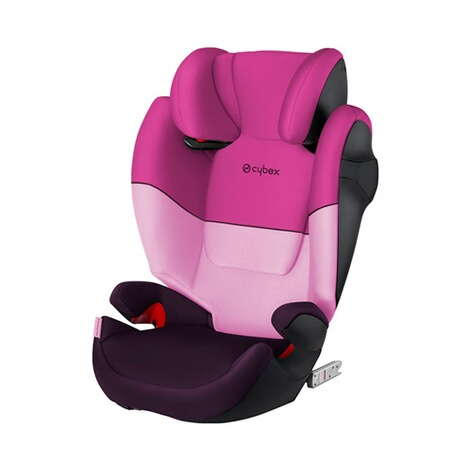 Cybex SILVER Solution M-Fix Kindersitz  purple rain 1