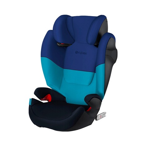 Cybex SILVER Solution M-Fix Kindersitz  blue moon 1