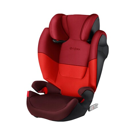 Cybex SILVER Solution M-Fix Kindersitz  rumba red 1