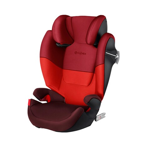 Cybex SILVER Solution M-Fix Kindersitz  rumba red 2